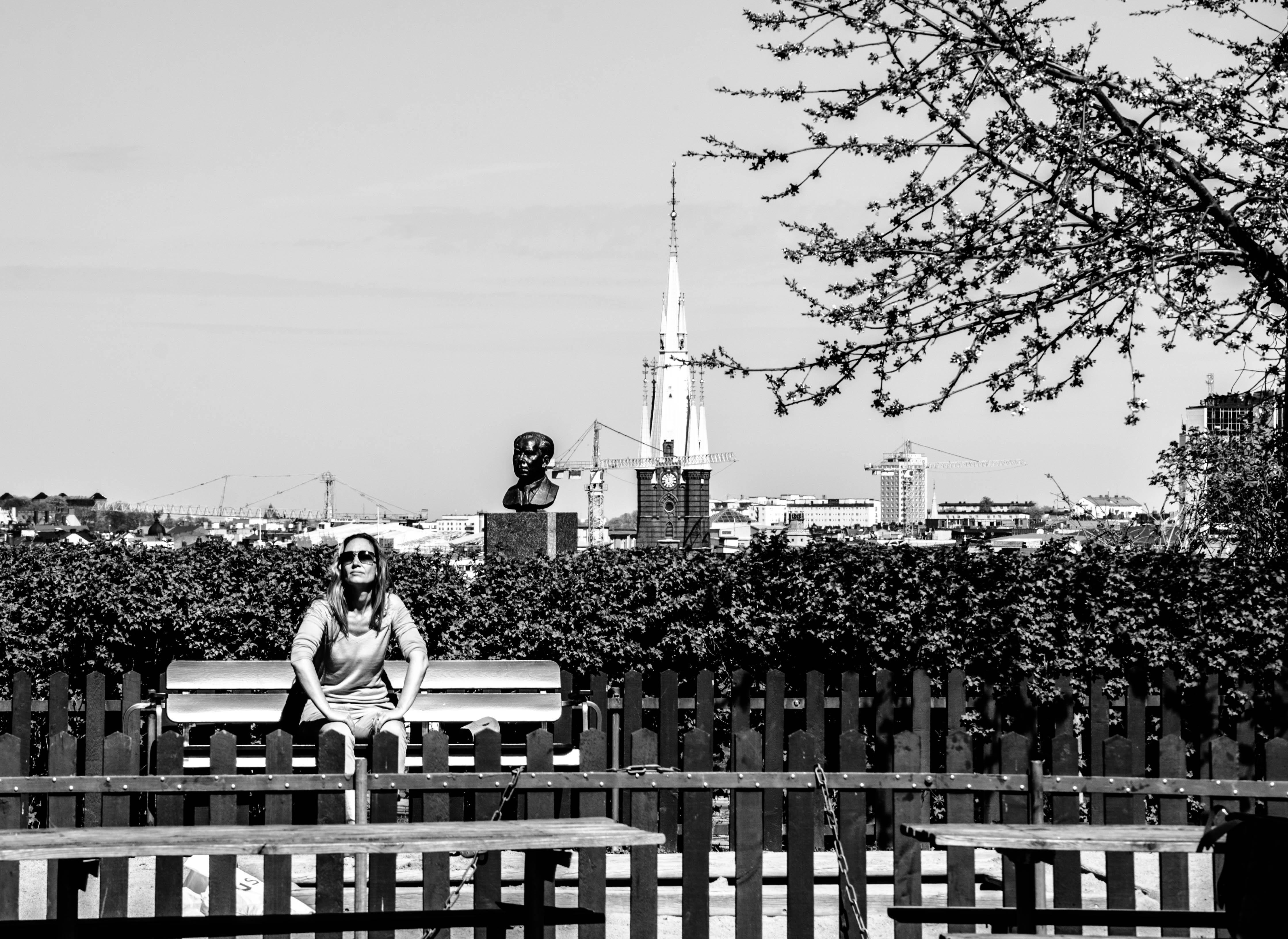 Ivar Lo:s park på Söder i Stockholm