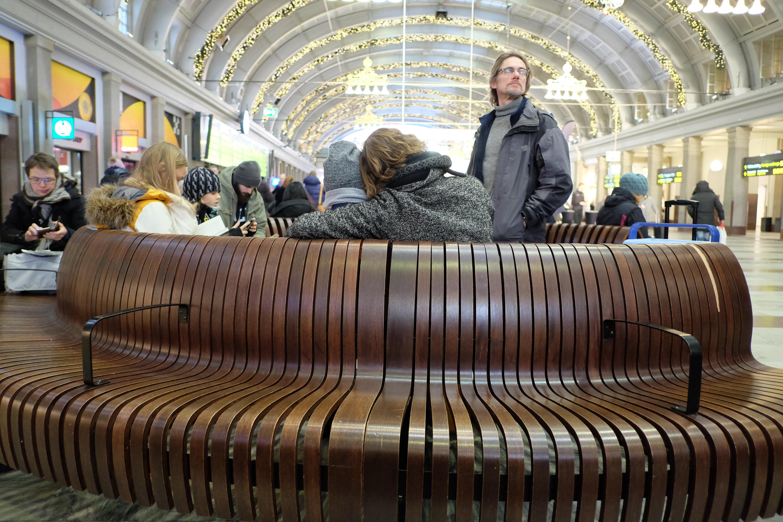 Vänthallen på Stockholms centralstation