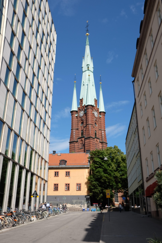 kyrka i stockholm - st klara