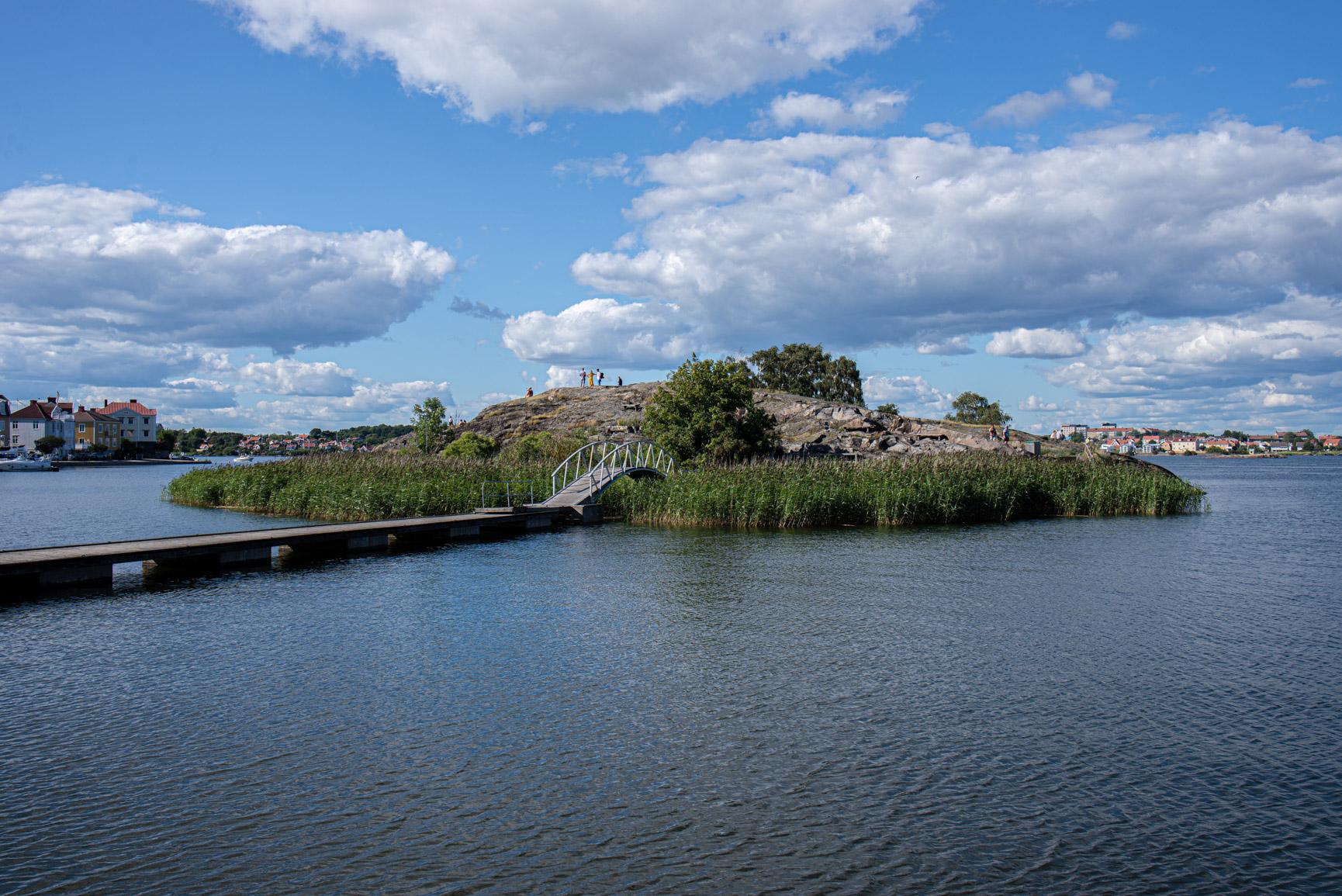 Stakholmen i Karlskrona vid Fisktorget