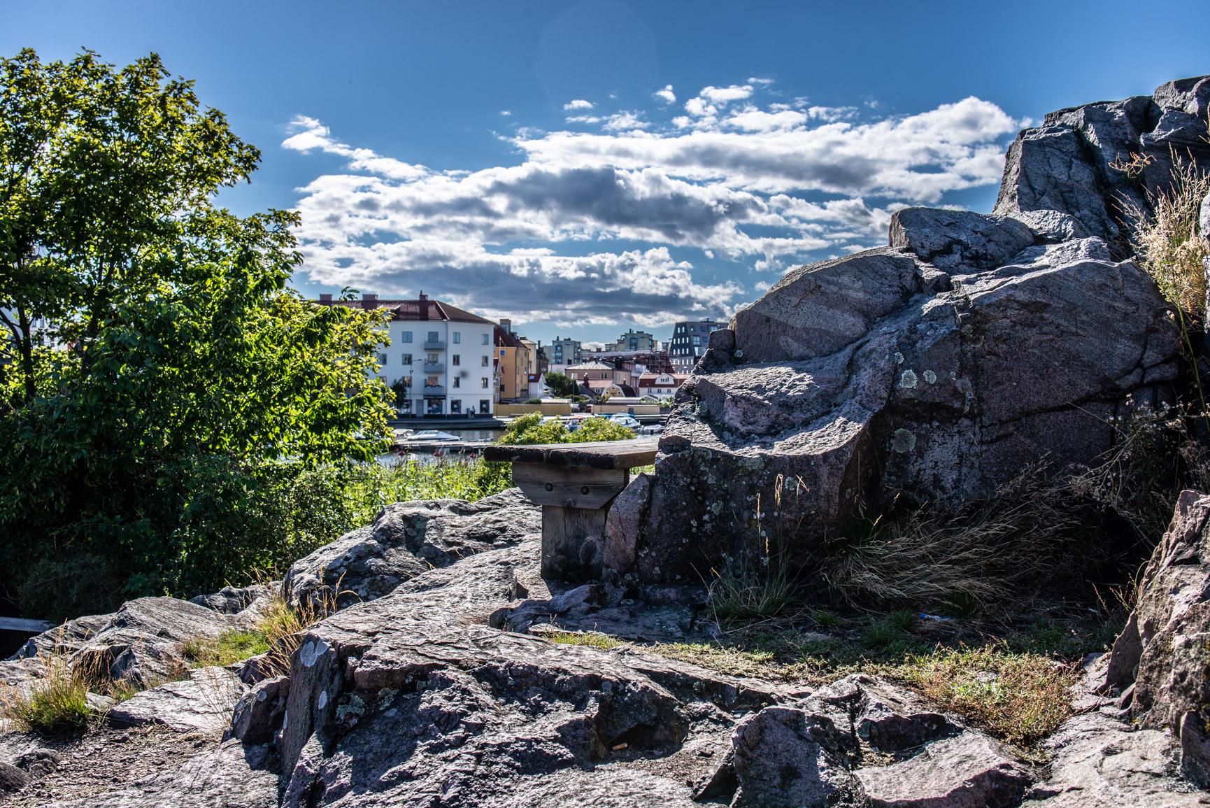 Karlskrona från Stakholmen